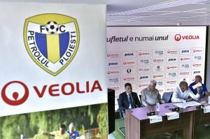 FOTBAL:PARTENERIAT FC PETROLUL PLOIESTI-VEOLIA (15.09.2017)