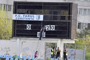 FOTBAL:FARUL CONSTANTA-PETROLUL PLOIESTI, LIGA 2 CASA PARIURILOR (4.05.2019)